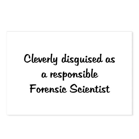 Forensic Scientist Postcards (Package of 8)