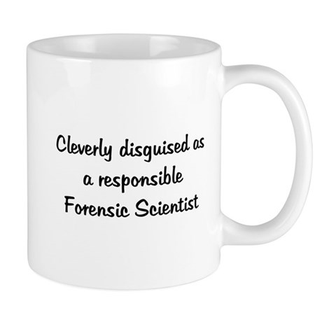 Forensic Scientist Mug