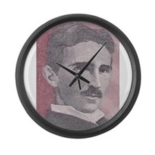 Tesla-1 Large Wall Clock