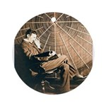 Tesla-3 Ornament (Round)