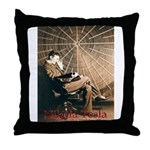 Tesla-3 Throw Pillow