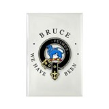 Clan Bruce Rectangle Magnet (100 pack)