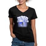 Exodus Women's V-Neck Dark T-Shirt