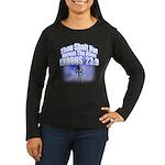 Exodus Women's Long Sleeve Dark T-Shirt