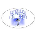 Exodus Oval Sticker (50 pk)