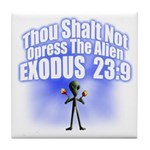 Exodus Tile Coaster