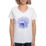 Exodus Women's V-Neck T-Shirt