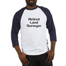 Retired Land Surveyor Baseball Jersey