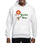 Flower Garden Diva Hooded Sweatshirt