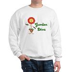 Flower Garden Diva Sweatshirt