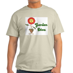 Flower Garden Diva Light T-Shirt