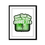 Exodus Framed Panel Print