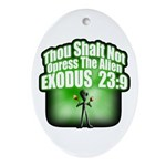 Exodus Oval Ornament