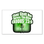 Exodus Rectangle Sticker 50 pk)