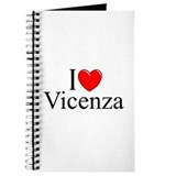 """I Love (Heart) Vicenza"" Journal"