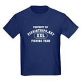 Kids Fishing Team Dark T-Shirt