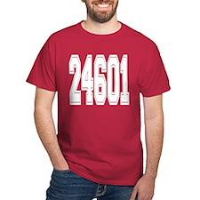 Valjean halfback T-Shirt (no back printing)