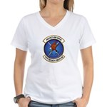 75th Security Forces SQ Women's V-Neck T-Shirt