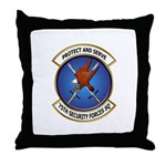 75th Security Forces SQ Throw Pillow