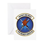 75th Security Forces SQ Greeting Cards (Pk of 10)