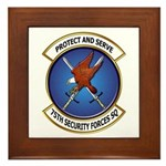 75th Security Forces SQ Framed Tile