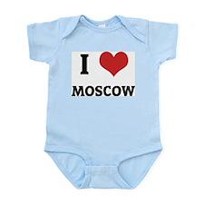 I Love Moscow Infant Creeper