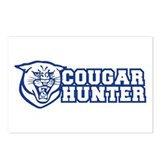 cougar hunter Postcards (Package of 8)