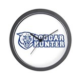 cougar hunter Wall Clock
