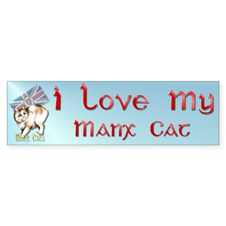 Manx Cats Bumper Sticker