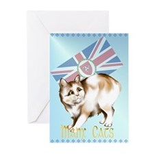 Manx Cats Greeting Cards (Pk of 20)