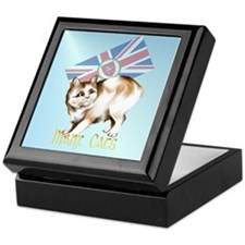 Manx Cats Keepsake Box