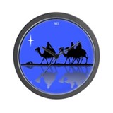 3 Wisemen Wall Clock
