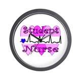 More Student Nurse Wall Clock