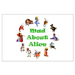 MAD ABOUT ALICE - GREEN Posters