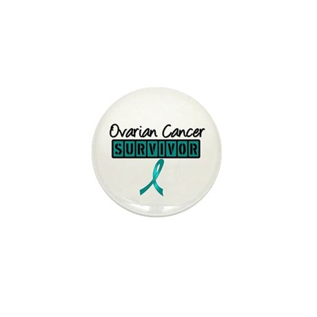 Ovarian Cancer Survivor Mini Button (10 pack)
