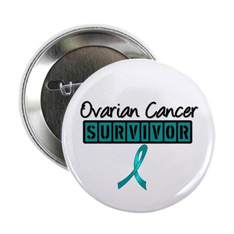 "Ovarian Cancer Survivor 2.25"" Button (10 pack)"
