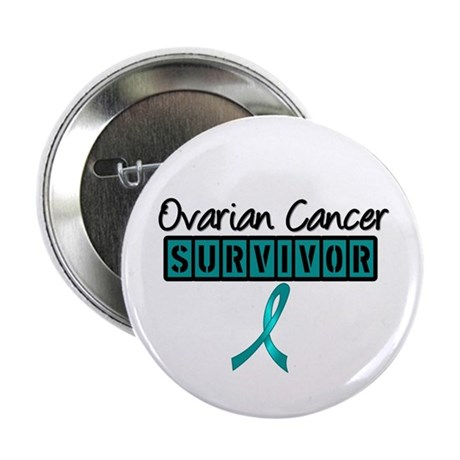 "Ovarian Cancer Survivor 2.25"" Button"