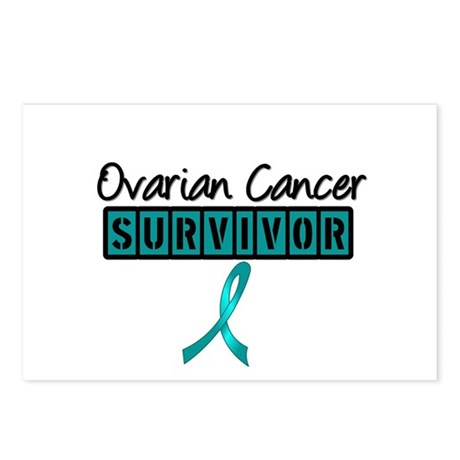 Ovarian Cancer Survivor Postcards (Package of 8)