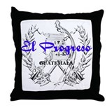 El Progreso Throw Pillow