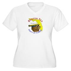 Florida Gents Women's Plus Size V-Neck T-Shirt