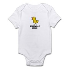 Asheville Chick Infant Bodysuit