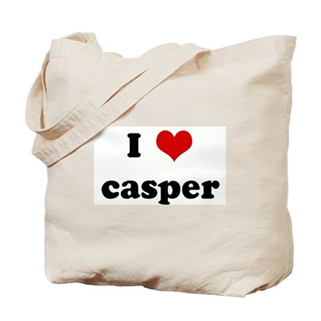 I Love casper Tote Bag