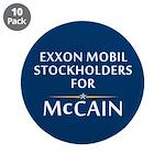 """Exxon Mobil McCain 3.5"""" Button (10 pack)"""