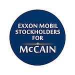 "Exxon Mobil McCain 3.5"" Button"