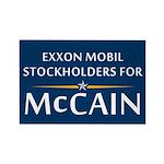 Exxon Mobil McCain Rectangle Magnet