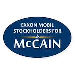 Exxon Mobil Oval Sticker