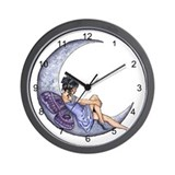 A Fairy Moon Wall Clock
