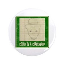 "Crichton Leprechaun 1 3.5"" Button"