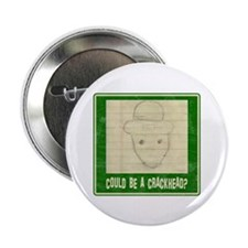 "Crichton Leprechaun 1 2.25"" Button (10 pack)"