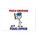 Proud Girlfriend 1 (Police Officer) Postcards (Pac